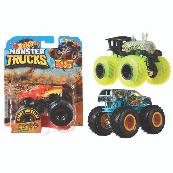 Hot Wheels Monster Truck, 1:64 Scale