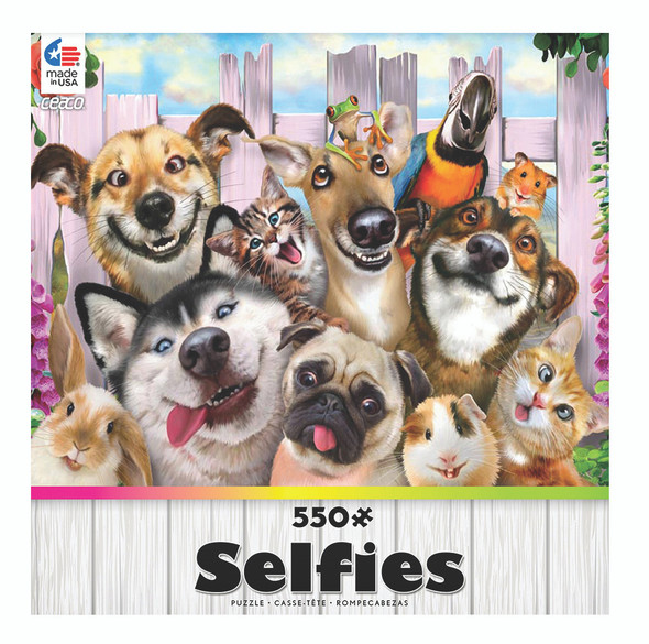 Ceaco Selfies Collection Puzzle - 550 Pc (Styles Very)