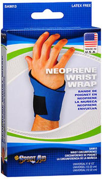 Scott Sport Aid Neoprene Wrist Wrap SA9013 Blue Universal