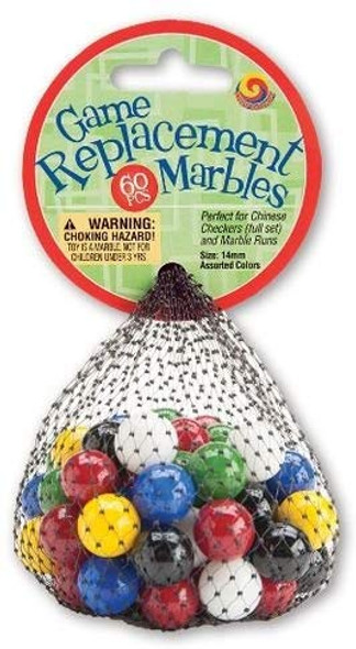 Mega Marbles 14mm Replacement Marbles - 60 ct