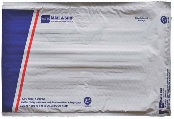 Seal-It Mail & Ship #5 Poly Bubble Mailer