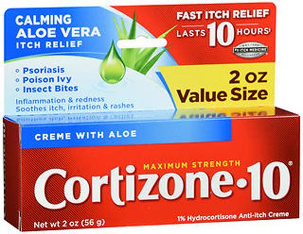 Cortizone-10 Anti-Itch Crème - 2 oz