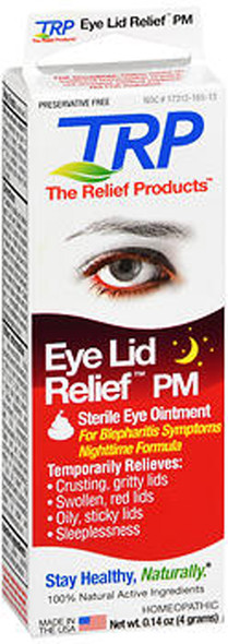 The Relief Products Eye Lid Relief PM Sterile Eye Ointment - 0.14 oz