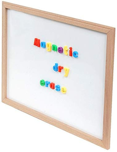 Wood Framed Dry Erase Board 24x36x1""