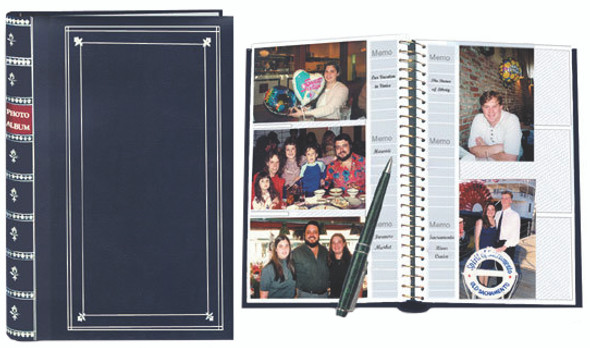 BI-Directional Memo Photo Album, 300 Pocket