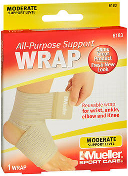 Mueller Sport Care Support Wrap All-Purpose One Size 6183
