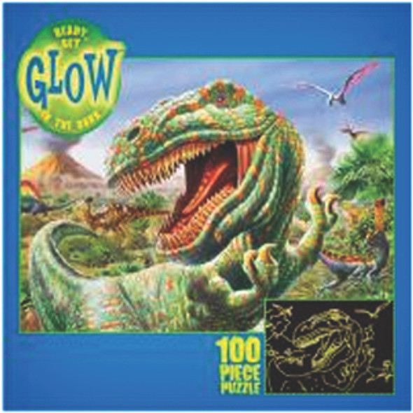 Ready Glow Puzzle, Assortment, 100 pc