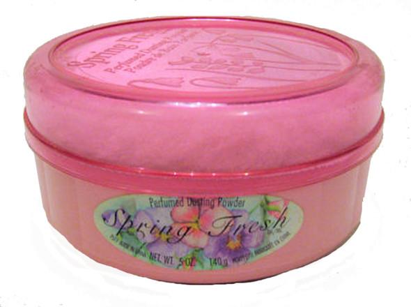 Spring Fresh Dusting Powder-Rose - 5 oz