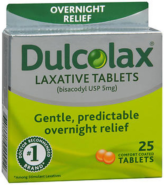 Dulcolax Laxative Tablets - 25 ct