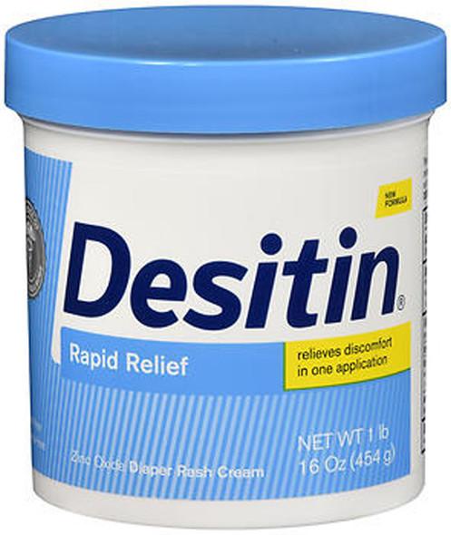 Desitin Rapid Relief Diaper Rash Cream - 16 oz