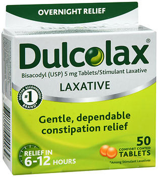 Dulcolax Laxative Tablets - 50 ct