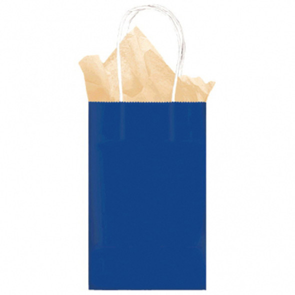 Kraft Bag-Small-Bright Royal Blue - 1 ct