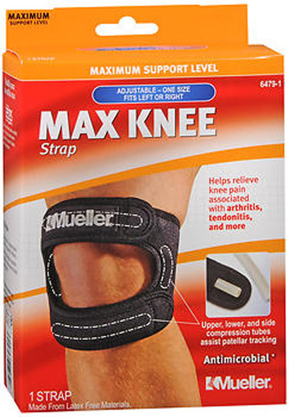 Mueller Max Knee Strap One Size Black 6479-1