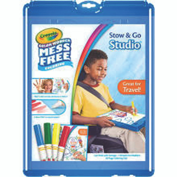 Crayola Color Wonder Stow & Go Activity Kit