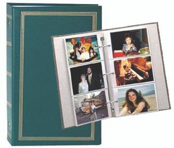 Pioneer 300 Pocket 3-ring Binder Album, Assorted Colors