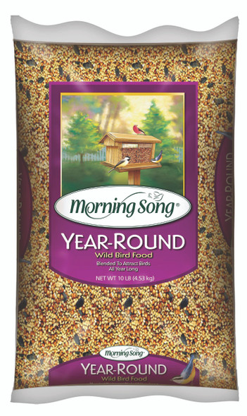 Morning Song Year-Round Wild Bird Food, 10-Pound