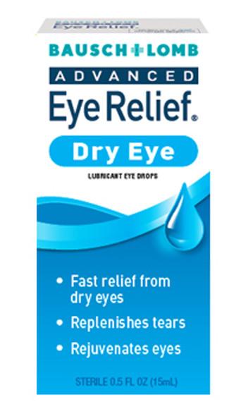 Bausch + Lomb Advanced Eye Relief Dry Eye Lubricant Drops - 1.0oz