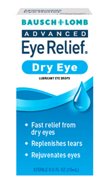 Bausch + Lomb Advanced Eye Relief Dry Eye Lubricant Drops - 1.0oz