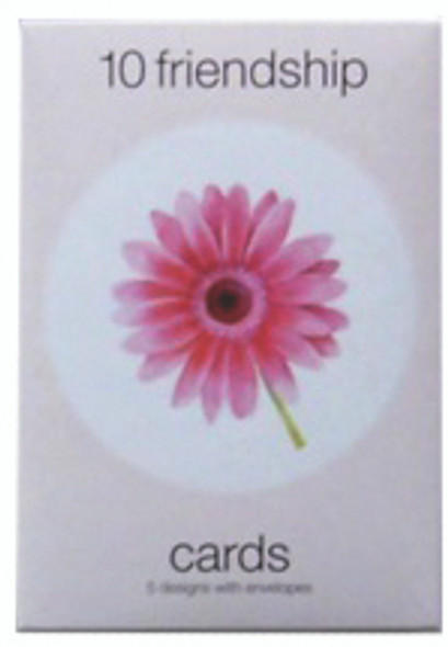 Boxed Greeting Cards -Friendship, Assortment - 10 ct