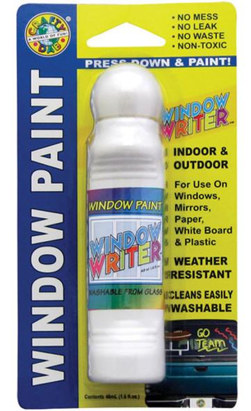 Crafty Dab Window Writer, White - 1.6 oz