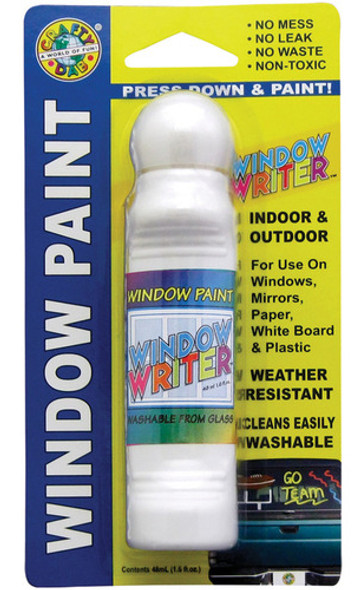 Crafty Dab Window Writer, White - 1.6 oz