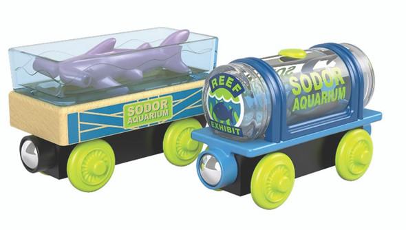 Fisher Price Thomas Wood Aquarium Cars