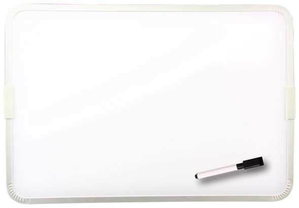 Metal Frame 2-Sided Magnetic Dry Erase Board 9x12""