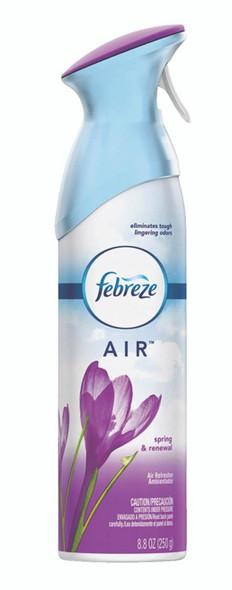 Febreze Air Effect Air Freshener, Spring & Renewal - 8.8 oz Aerosol