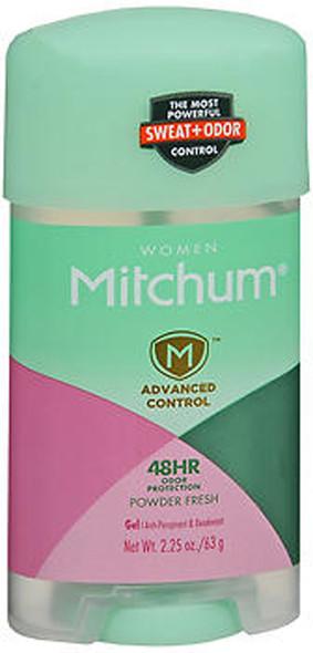 Mitchum Women Gel Powder Fresh - 2.25 oz