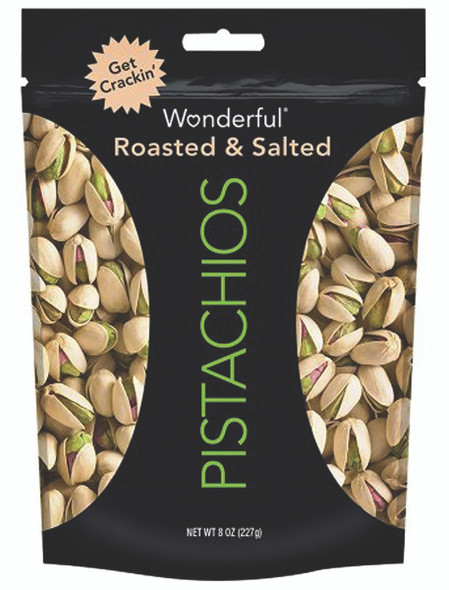 Pistachio Roasted Lightly Salted Nuts, 8 oz