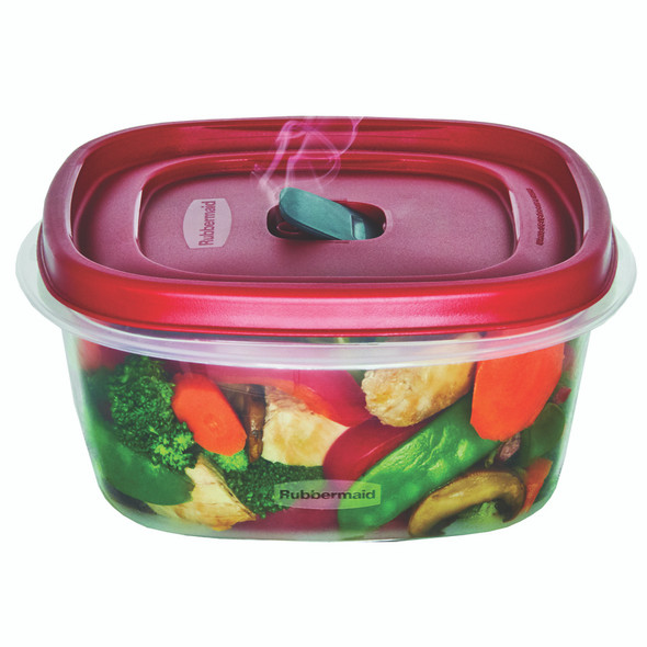 Rubbermaid Easy Find Vented Lid Food Storage Containers, 7-Cup - 1 ct