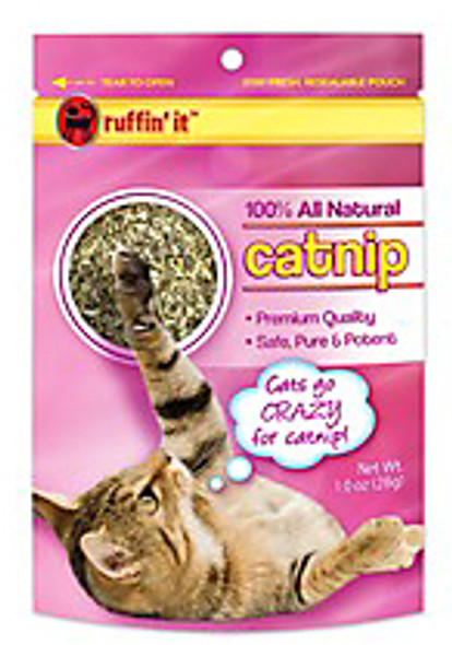 Ruffin It Premium Quality Catnip Toy, 1-Ounce