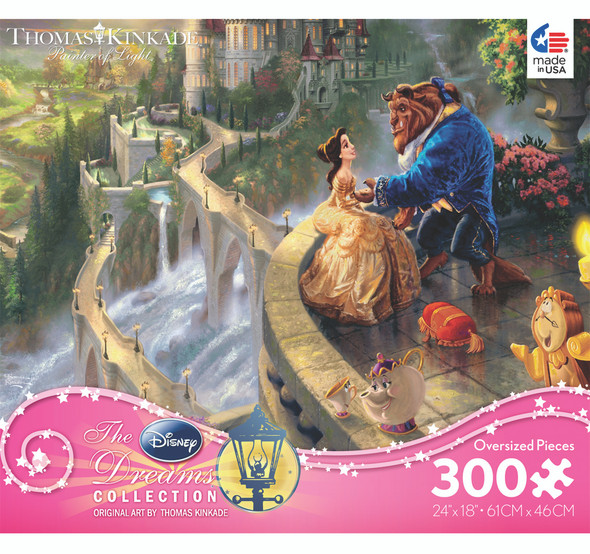 Ceaco Thomas Kinkade Disney Princess Collection (Themes Very) - 300 Pc