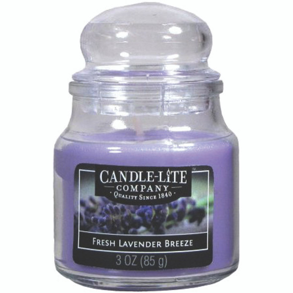 Jar Candle, Fresh Lavender Breeze, 3 oz