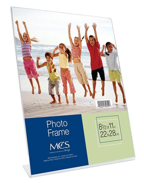 Bent Acrylic Frame-Vertical 8.5*11 in