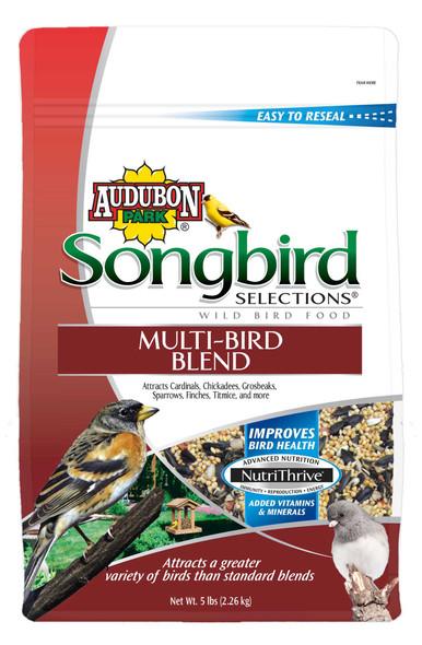 Audubon Park Songbird Selections Wild Bird Food, 5 Pounds