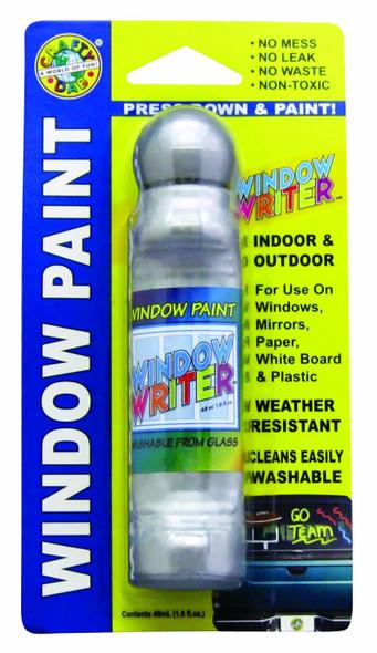 Crafty Dab Window Writer, Silver - 1.6 oz