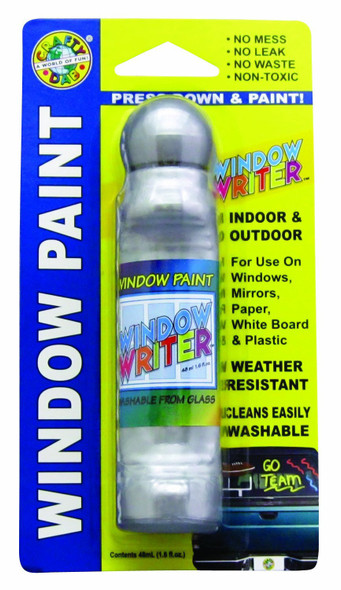 Crafty Dab Window Writer, Silver - 1.6 oz