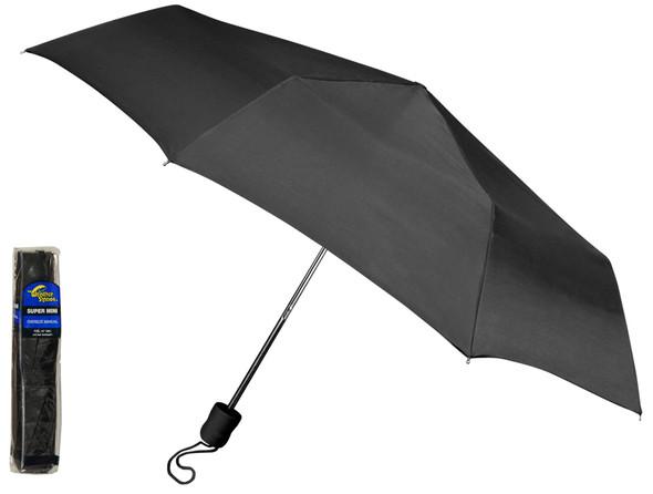 """Black Super Mini Umbrella 42"""""""