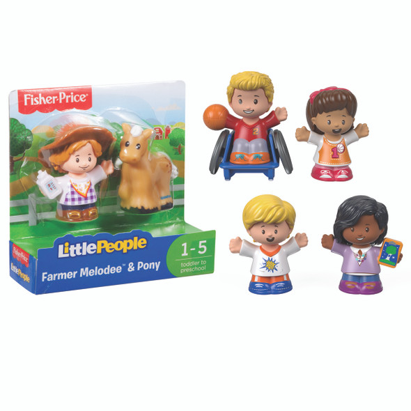 FP Little People Figure, Asst, 2 pk