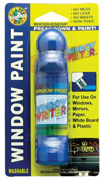 Crafty Dab Window Writer, Blue - 1.6 oz