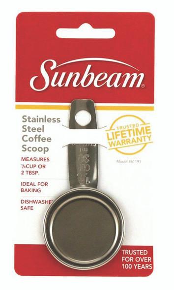 Sunbeam Stainless Steel Coffee Scoop, 1/8 cup - 1 ct