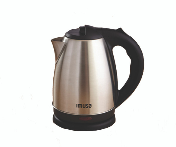 Cordless Stainless Steel Electric Tea Kettle with Easy To Serve Pouring Spout - 1.7 Liter