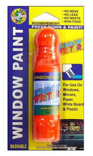 Crafty Dab Window Writer, Orange - 1.6 oz