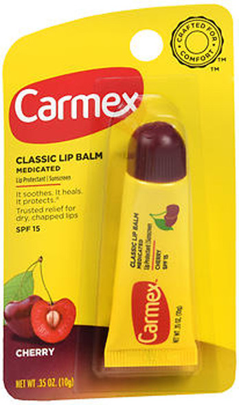 Carmex Lip Balm Tube Cherry - 12 ct