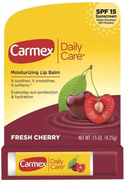 Carmex Moisturizer Cherry - 12ct