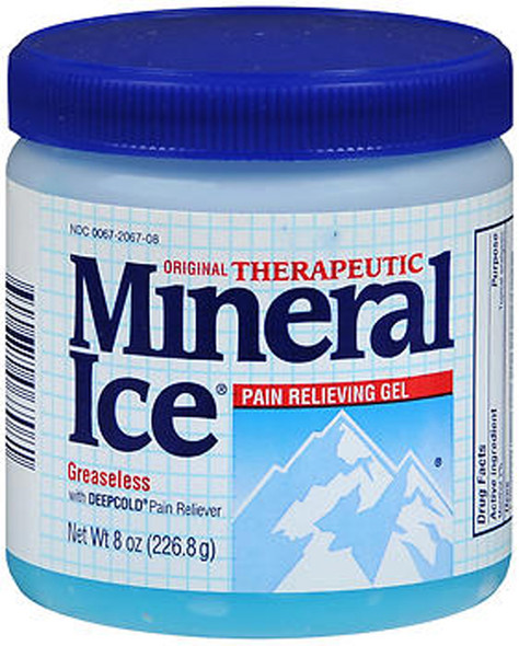 Mineral Ice Therapeutic Gel - 8 oz