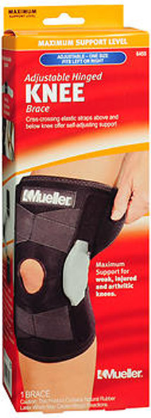 Mueller Adjustable Hinged Knee Brace One Size 6455