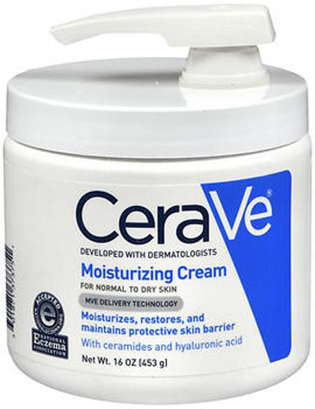 CeraVe Moisturizing Cream With Pump - 16 oz