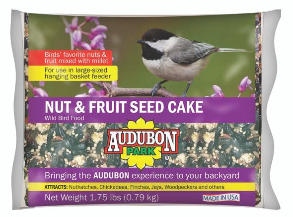 Audubon Park Nut & Fruit Seed Cake -1.7 lbs